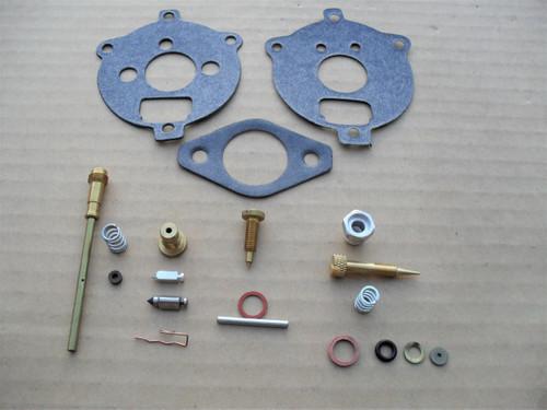 Carburetor Rebuild Kit for Briggs and Stratton 291763, 295938, 394693 Made In USA, 7 HP, 8 HP, repair overhaul &
