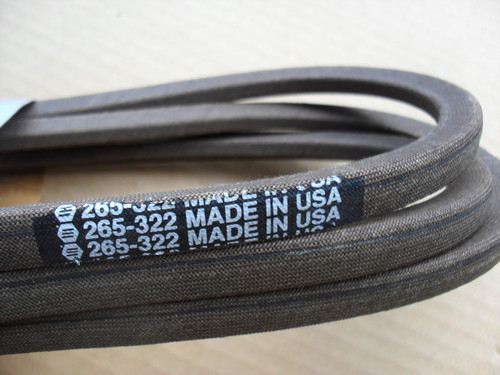 "Deck Belt for Murray 40"" Cut 037X62MA, 37X62, 37X62MA, Scotts, Made In USA"