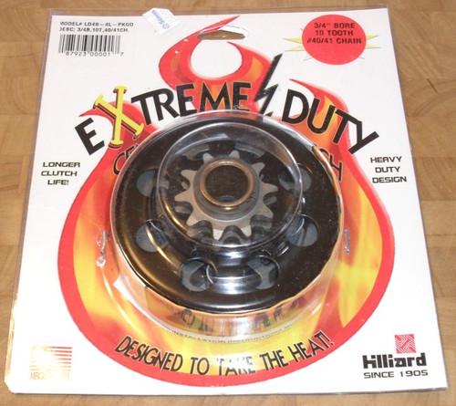 """Hillard Sprocket Clutch 3/4"""" Bore, 10 teeth up to 13 HP, LD4S-4L, LD4S4L"""