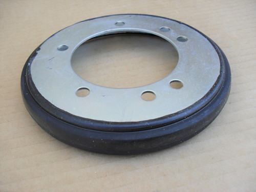 Drive Disc with Liner for Snapper Smooth Clutch 53103, 57423, 7053103, 7600135, 7600135YP, 5-3103, 5-7423