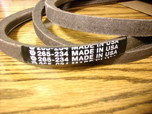 "Deck Drive Belt for Cub Cadet 38"" Cut 754-0641, 954-0641 Made In USA"
