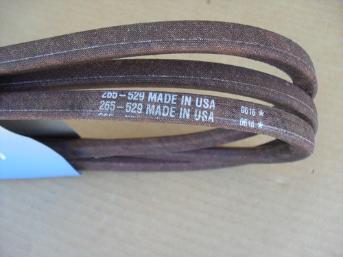 "Deck Belt for John Deere, Scotts, Sabre 42"" Cut, S1742, S1642, 1542HS, 1542GS, 1642HS, 1742HS, 1742GS, M124895, Made In USA"