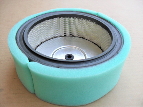 Air Filter for Subaru Robin EH63, EH64 and EH65, 01876068, 2633261001, 26332610A1, 0187-6068, 263-32610-01, 263-32610-A1, Includes Foam Pre Cleaner Wrap
