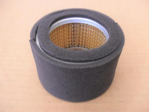 Air Filter for Subaru Robin EC13V, 1573261008, 1573620101, 157-32610-08, 157-36201-01 Includes Pre Cleaner