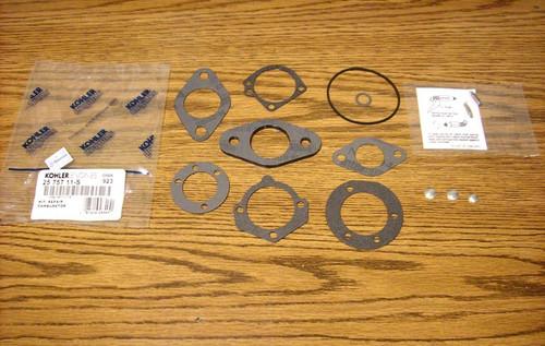Carburetor Rebuild Kit for Kohler K181 to K341, M8 to M16, MV16 to MV20, 2575711, 2575711S, 25 757 11, 25 757 11-S