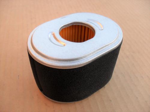 Air Filter for Honda GX110, GX120, GX140, GX160, GX200, 17210Z4M821, 17210ZE1505, 17210ZE1507, 17210ZE1517, 17210ZE1820, 17210ZE1822, 17210-Z4M-821, 17210-ZE1-505, 17210-ZE1-507, 17210-ZE1-517, 17210-ZE1-820, 17210-ZE1-822 includes foam pre cleaner wrap
