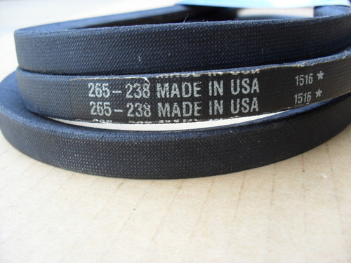 Deck Belt for John Deere D140, D150, D160, L120, L130, L145, L155, LA130, LA140, X140, GX20571, GX21833, Made In USA