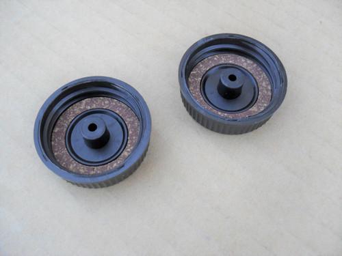 Fuel Gas Cap Oil Cap for Homelite XL, XL2, Super 2, VI Super 2, 180, 190,192, 200, LX30, 240, Super 240, DA92701C, DA-92701-C, Chainsaw Chain Saw