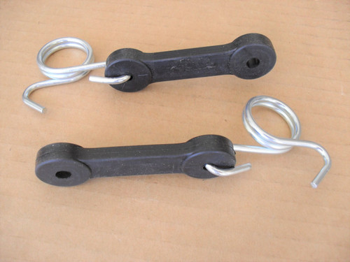 Rubber Latch Strap for AYP, Craftsman Grass Catcher, Mulching Plate Cover 160793 Set of 2 Straps