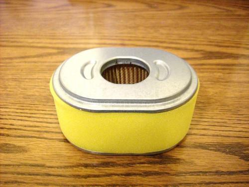 Air Filter for Honda GX110, GX120, 17210ZE0505, 17210ZE0820, 17210ZE0821, 17210ZE0822, 17210-ZE0-505, 17210-ZE0-820, 17210-ZE0-821, 17210-ZE0-822 includes foam pre cleaner wrap