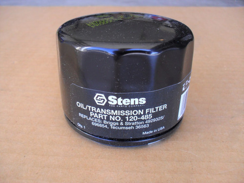 Oil Filter for Briggs and Stratton Vanguard 492056, 492932, 492932B, 492932S, 695396, 696854, 795137, 795890, 798576, 842921, 4049, 4049H, 4154, 5049, 5049H, 5049K, 5062K, 5076, Made In USA
