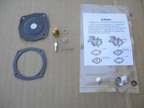Carburetor Diaphragm Rebuild Kit for Tecumseh AH600, AV520, AV600, H22 to H35, HS40, LAV30, LAV40, TVS600, TVS1400, TVS1500, 630752, 630759, 630823, 630906, 630914, 630954, 630974, 630974A, 631011A, 631053, 631088, 631111, 631121, 631131, 631137, Made In USA