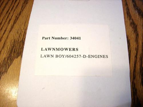 Starter Spring Lawn Boy D100, F100, F140, 604257, lawnboy