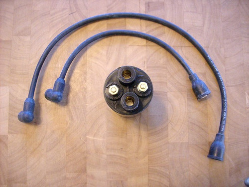 Ignition Coil with Wires for Kohler KT17, KT18, KT19, 5275548, 5275548S, 52  755 48, 52 755 48-S