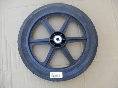Big Hi Wheel for AYP, Craftsman, Poulan 151161, 532752063, 752063, Includes Center Bearing, Made In USA