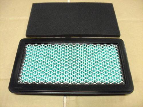 Air Filter for Honda GCV520U, GXV530, GCV530, 06172Z0A305, 17211Z0A013, 17211ZOA013, 17218Z0A000, 17218Z0A810, 06172-Z0A-305, 17211-Z0A-013, 17211-ZOA-013, 17218-Z0A-000, 17218-Z0A-810 Includes foam pre cleaner