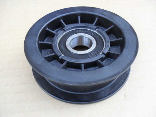Deck and Drive Flat Idler Pulley for Murray, Scotts 690409, 690409MA