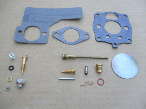 Carburetor Rebuild Kit for Briggs and Stratton 391071, 394989, 10 HP to 12 HP, 16 HP & Made In USA