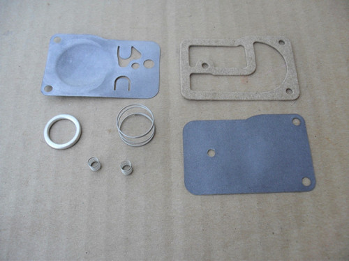 Carburetor Fuel Pump Rebuild Kit for Briggs and Stratton 393397 Diaphragm, Gasket, Spring , Cap