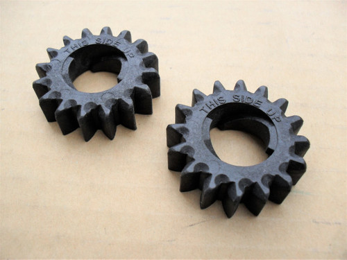 Starter Gears for Briggs and Stratton 280104, 280104S, 693058, 693059, 695708, Gear Set of 2 &