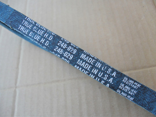Belt for Western Auto 14843, 754-0239, 9304, P54239, P54-239, Made in USA, Kevlar cord, Oil and heat resistant