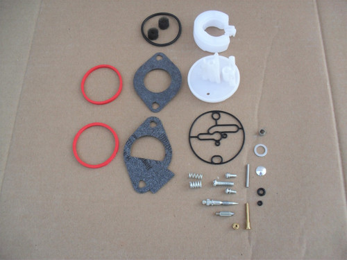 Carburetor Rebuild Kit for Nikki, Briggs and Stratton 698787, 790032, 796184 &