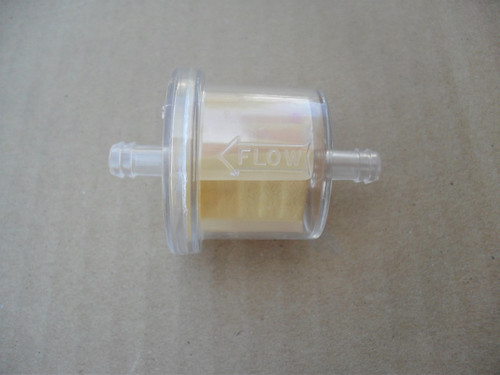 Clear Gas Fuel Filter for Land Pride 831031C, 831035C, 831-031C, 831-035C