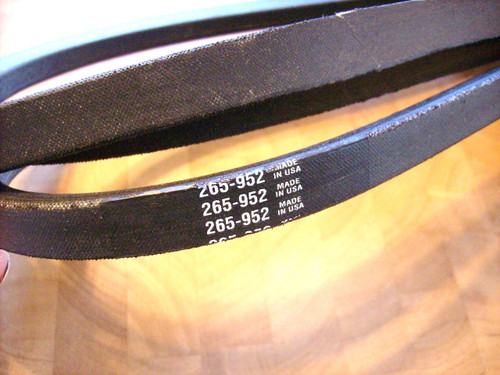 Deck Belt for Bunton BZT2190, BZT2210, BZT2230, BZT2250, BZT2260, BZT2270, BZT2310, BZT2330, 128003 Made In USA