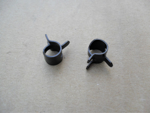 "Fuel Line Hose Clamps for 5/16"" O.D."