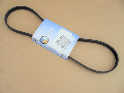 "New Stens 265-838 Auger Drive Belt For Toro 38175 Power Lite 16/"" Snow Blower"