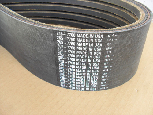 Belt for Vermeer BC1000XL Chipper 153263001, Made In USA