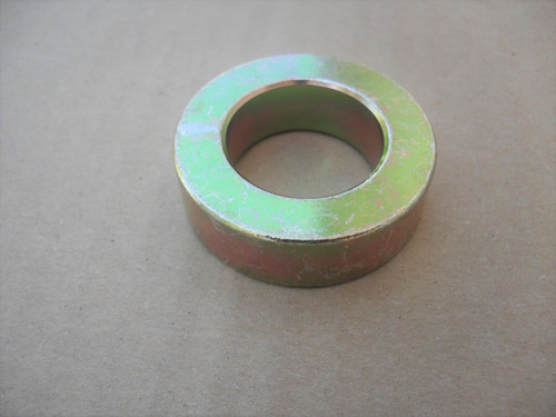 "Caster Yoke Spacer for Bunton PJH1054 , ID: 1 "" x OD: 1-11/16 "" x Height: 1/2 "" Blade Spacer Deck Adjustment"