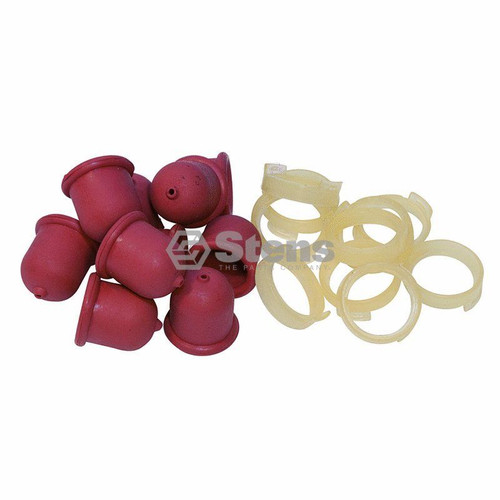 Primer Bulb for Briggs and Stratton 4180, 496115, 5085, 5085H, 5085K, 694395 Shop Pack of 10 Carburetor Primer Bulbs &