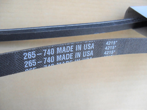 Deck Belt for Worldlawn 483031 Made In USA, World Lawn