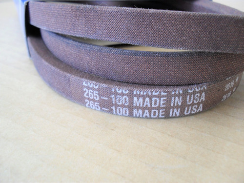 Drive Belt for MTD, Huskee, White Outdoor 754-0461, 954-0461, Made In USA