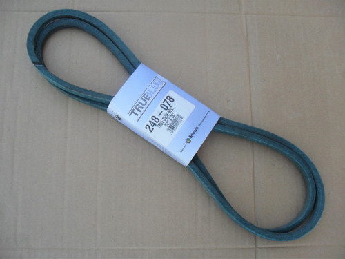 Belt for Power King 810078, Made In USA, Oil and heat resistant, Kevlar cord