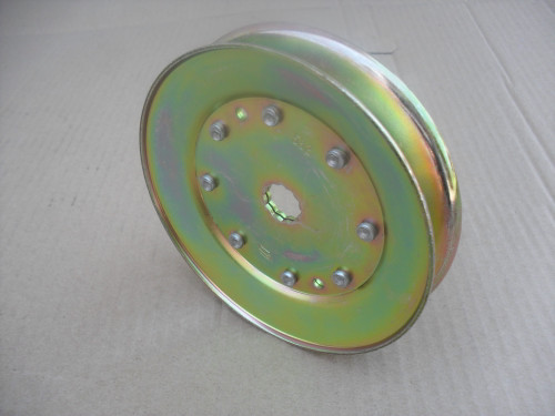 "Deck Spindle Pulley for Dixon 38"" Cut 532153532, 532173435 Made In USA, OD: 4-7/8"""