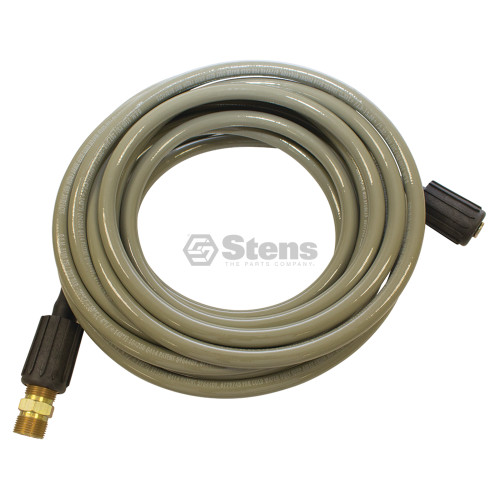 Pressure Washer Hose 25 Feet Long, High Pressure, 3100 PSI, High Flexibility, Kink Resistance, Designed to Fit Most Gas Pressure Washers, Non Marring and Abrasion Resistant 758729