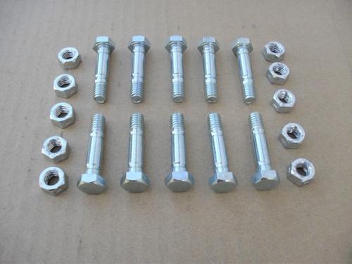 Shear Pins Bolts for Cub Cadet 524, 724E, 826, 1028, 926STE, 1028STE, 1130STE, 710-0890, 710-0890A, 910-0890A, Snowblower, snow blower, pin, bolt