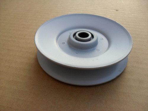"Idler Pulley for MTD 756-0399, 756-0499, 956-0399, ID: 3/8"" OD: 3-1/2"""