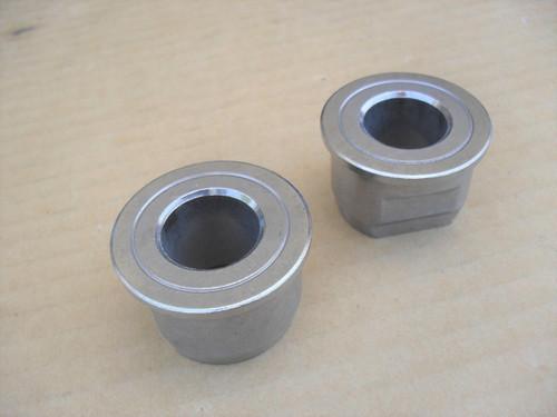 2 Wheel Bushing Bearings for Husqvarna GT160, GT180, LT112, YT125, 532009040, 532124959, 583670401, bushing, bearing