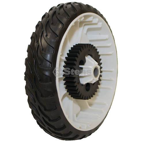 Self Propelled Personal Pace Drive Wheel Tire for Toro Recycler 115-4695, 1154695 with gear