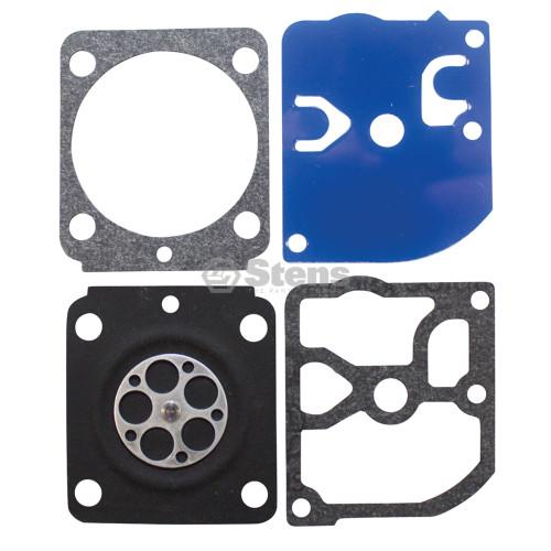 Carburetor Diaphragm Gasket Rebuild Kit for Zama GND89, GND92, GND-89, GND-92, C1Q-S150, C1Q-S153, C1Q-S160, C1Q-S165, C1Q-S166, C1Q-S169, C1Q-S170, C1Q-S186, C1Q-S187, C1Q-S70A, C1Q-S150A, C1Q-S153A, C1Q-S160A, C1Q-S169A, C1Q-S169B, C1Q-S170A, C1Q-S186A, C1Q-S186B