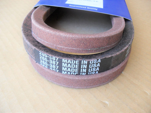 "Deck Belt for 48"" Cut Lesco 021947, Made In USA"