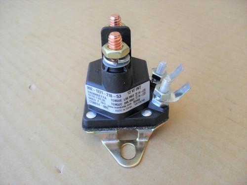 Starter Solenoid for Lawn Boy GT18H, LT11, LT12, YT16, YT14H, YT16, 110167, 47-1910, 740207