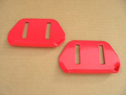 2 Skids Shoes for Toro 522, 622, 724, 824, 38051, 38053, 38062, 38063, 38064, 38072, 38073, 38078, 38605, 380606, 380607, 38608, 38818, 40-8160-01, 40816001 snowblower