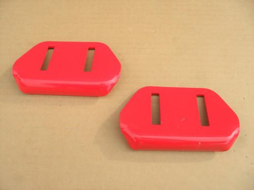 2 Skids Shoes for Toro 522, 622, 724, 824, 38051, 38053, 38062, 38063, 38064, 38072, 38073, 38078, 38605, 380606, 380607, 38608, 38818, 40-8160-01, 40816001 snowblower