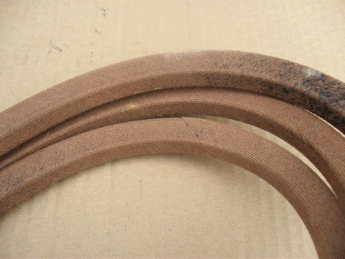 "Deck Drive Belt for Exmark Turf Tracer HP, Metro with 52"" Lazer HP 48"" Cut 413308, 1413308, 1-413308, Made In USA"