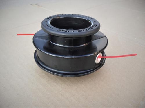 Twist Feed String Trimmer Head for Brush King BK32, BK32LT, BK49. BK85, BK100 Made In USA