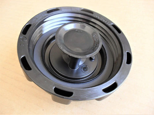 """Gas Fuel Cap for Wright Mfg 41410012, I.D. 3-1/4"""", Made In USA"""
